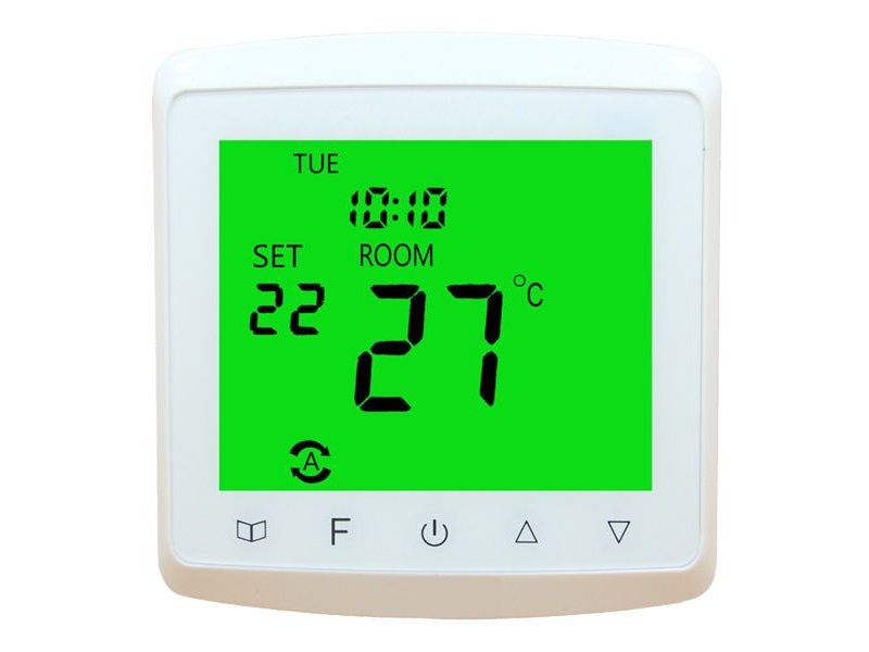 raumthermostat digital unterputz thermostat f r fu bodenheizung temperaturregler ebay. Black Bedroom Furniture Sets. Home Design Ideas